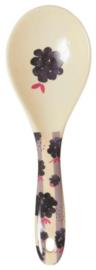 Rice Melamine Salad Spoon Blackberry Beauty Print - 'Follow the Call of the Disco Ball'