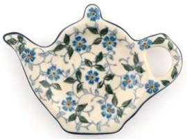 Bunzlau Teabag Dish Teapot 10 cm Summer Wind