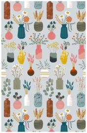 Ulster Weavers Cotton Tea Towel Hygge Vases