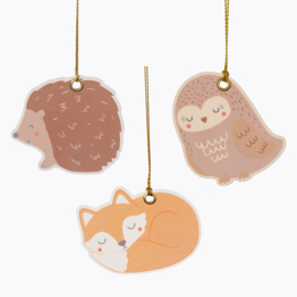 Sass & Belle Gift Tags Woodland Animal -Set of 12-