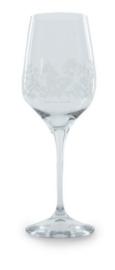 Bunzlau Red Wine Glass Summer Breeze 460 ml -wit-
