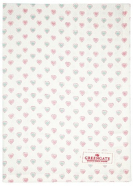 GreenGate Tea Towel Penny white