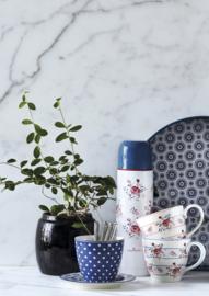 GreenGate Mug Fiona pale pink -stoneware-
