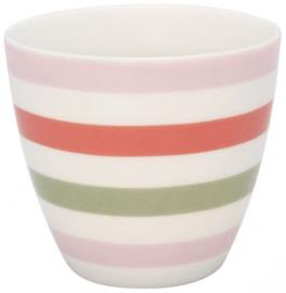 GreenGate Latte Cup Valentina -stoneware-