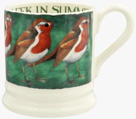Emma Bridgewater Robin on the Green 1/2 Pint Mug
