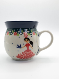 Bunzlau Farmers Mug 240 ml Princess -Limited Edition-