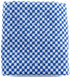 Bunzlau Kitchen Towel Small Check Royal Blue