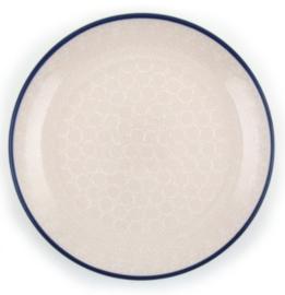 Bunzlau Plate 26,5 cm White Lace