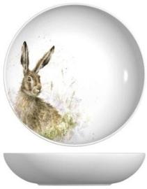 Wrendale Designs Pasta Bowl Hare