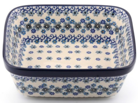 Bunzlau Oven Dish Square 1550 ml Winter Garden 19 x 8 x 19 cm
