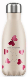 Chilly's Drink Bottle 260 ml Emma Bridgewater Pink Hearts