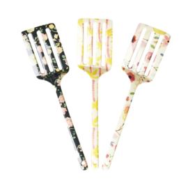 Rice Melamine Spatula - 3 Assorted Happy 21 Prints