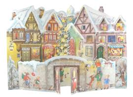 Meander Advent kalender 3D Kerstdorp