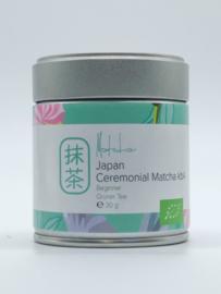 Dames van de Thee -Ceremonial Matcha Beginner- blikje 30 gram -bio-