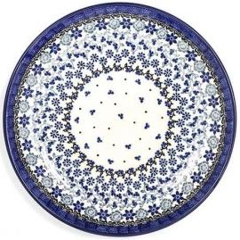 Bunzlau Plate 20 cm Belle Fleur