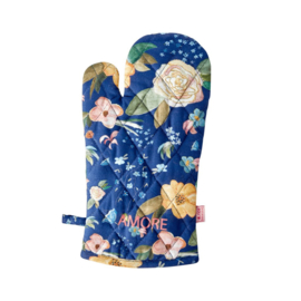 Rice Oven Mitten - Selma's Fall Flower Print