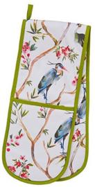 Ulster Weavers Double Oven Glove Oriental Birds