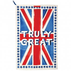 Emma Bridgewater Union Jack Tea Towel -Truly Great-