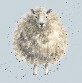Wrendale Designs Lunch Napkins 'The Woolly Jumper'