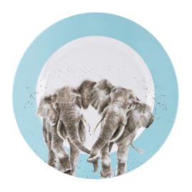 Wrendale Designs Elephant Melamine Dinner Plate