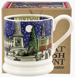 Emma Bridgewater London At Christmas 1/2 Pint Mug Boxed - 2021