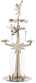 Angel Chimes Original Swedish Design -zilverkleurig-