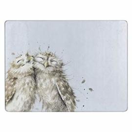 Wrendale Designs Owl Glass Worktop Saver