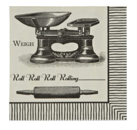 Ulster Weavers Paper Napkins Baking - set of 20