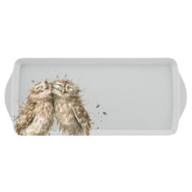 Wrendale Designs Owl Melamine Sandwich Tray