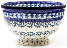 Bunzlau Bowl on Foot Large 25,5 cm Vine