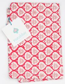 Rozablue Theedoek Bells pink