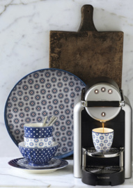 GreenGate French Bowl Extra Large Spot blue -stoneware-
