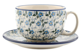 Bunzlau  Cup & Saucer 350 ml Summer Wind