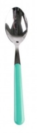 Brio Mokkalepel / Theelepel Turquoise