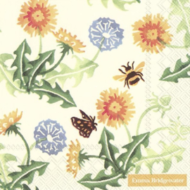 Emma Bridgewater Wildflowers Dandelion Lunch Napkins