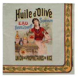 Lunch Servetten Huile d'Olive