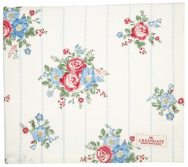 GreenGate Tablecloth Henrietta white 145 x 250 cm