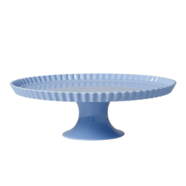 Rice Large Melamine Cake Stand in Soft Blue