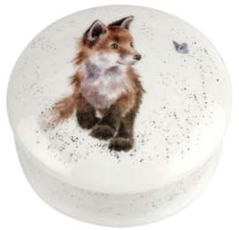 Wrendale Designs 'Born to be Wild' Round Lidded Box
