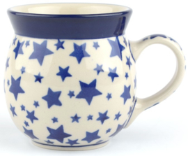 Bunzlau Farmers Mug 240 ml White Stars