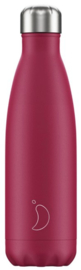 Chilly's Drink Bottle 500 ml Matte Pink