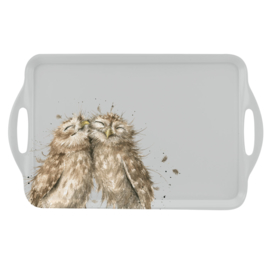 Wrendale Designs Owl Large Melamine Tray