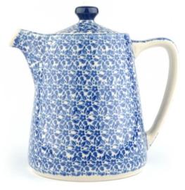 Bunzlau Teapot Straight 1000 ml Indigo