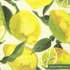 Emma Bridgewater Vegetable Garden Lemons Lunch Napkins