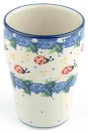 Bunzlau Milk Mug 240 ml Ladybug -Limited Edition-