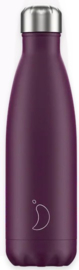 Chilly's Drink Bottle 500 ml Matte Purple