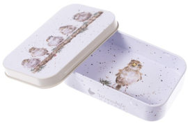 Wrendale Designs 'Chirpy Chaps' mini gift tin