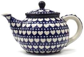 Bunzlau Teapot 1,3 l Blue Valentine