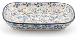 Bunzlau Tray Small 15 x 18,5 cm Summer Wind