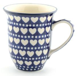 Bunzlau Tulip Mug 500 ml Blue Valentine